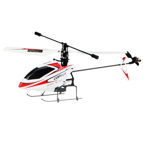 New Wltoys V911 4 Channel 2 4GHz Single Blade RC Helicopter with Gyro BNF  Red