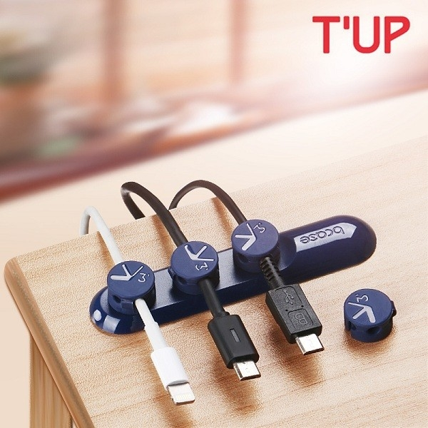 Bcase TUP Magnetic Desktop Cable Clips Cord Management Tiny 3 Size ...