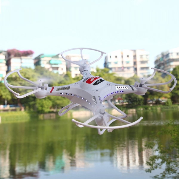 JJRC H8C 4CH 6-Axis Gyro Better than X5C RC Quadcopter with 2 0MP Camera  (Mode 2) RTF White